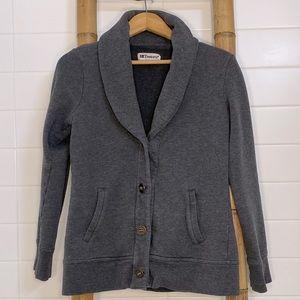 Tretorn grey shawl collar cardigan